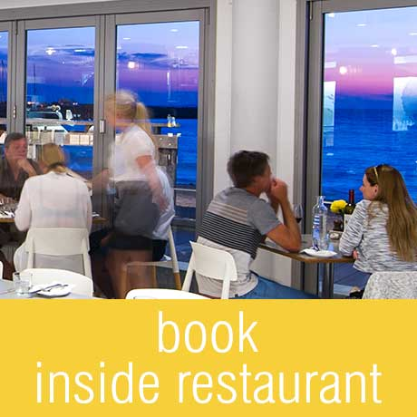 book our inside restaurant